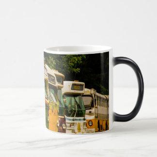 Bus Graveyard Black/White 11 oz Morphing Mug