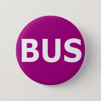 BUS logo - Violet 2 Inch Round Button