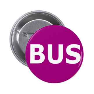 BUS logo - Violet 2 Inch Round Button