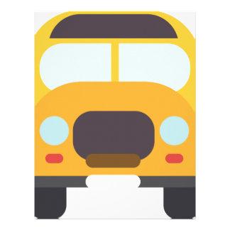 Bus School Drawing Letterhead