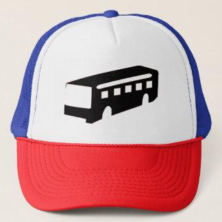 Bus Silhouette Trucker Hat
