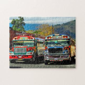 Bus Station Antigua. Jigsaw Puzzle
