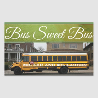 Bus Sweet Bus School Bus sticker