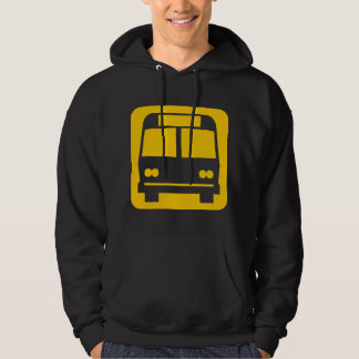 Bus symbol - Amber Hoodie
