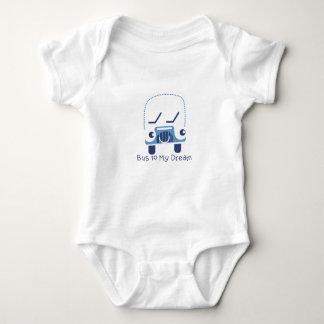 Bus To My Dream Baby Jersey Bodysuit