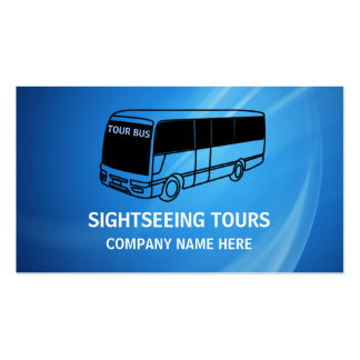 Bus Travel Business Cards