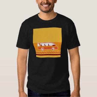 Bus vector tee shirt