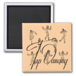 Busby, Classic Tap T-shirts & Gifts Square Magnet
