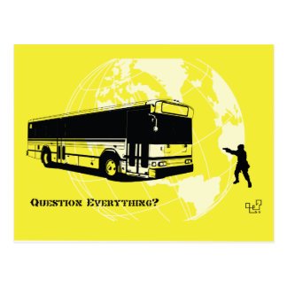 Bused - Question Everything 002 Postcards