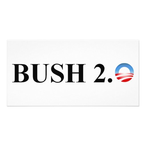 BUSH 2.0 PHOTO CARD TEMPLATE
