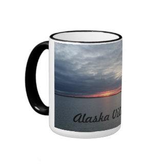 Bush Alaska Print coffee mug