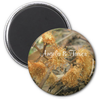 Bush Beauty 2 Inch Round Magnet