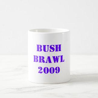 BUSH BRAWL2009 CLASSIC WHITE COFFEE MUG