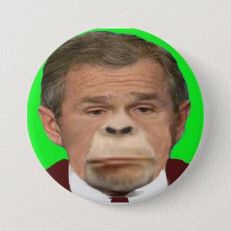 Bush Chimp Button
