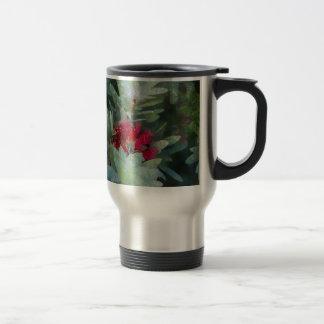Bush Flower 15 Oz Stainless Steel Travel Mug
