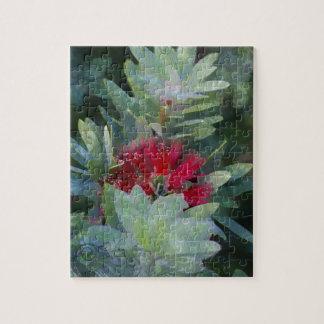 Bush Flower Jigsaw Puzzle