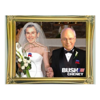 Bush_Gay_Marriage Postcard