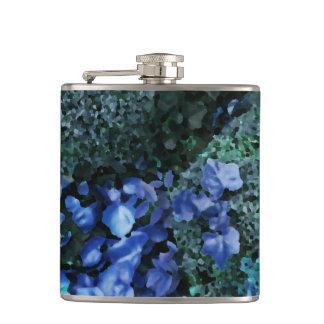 """Bush Leaf Butterflies"" JTG Art Flask"