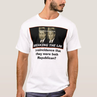 bush/nixon, A coincidence that they were both R... T-Shirt