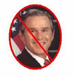 Bush Photo Sculpture Keychain