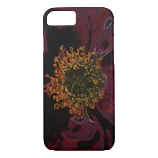 Bush Roses Neon iPhone 7 Case