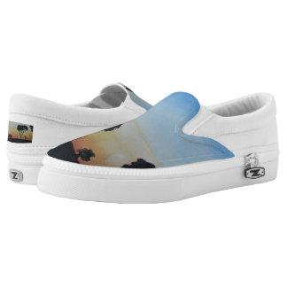 Bush Sunset Slip-On Sneakers