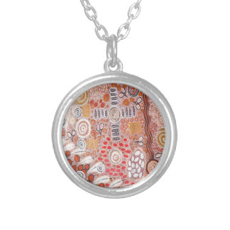 Bush Tucker Silver Plated Necklace