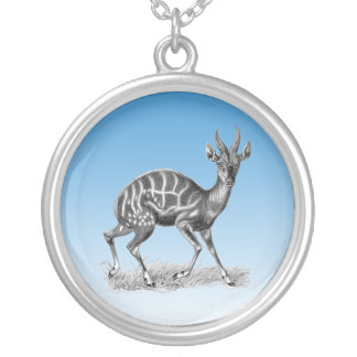 Bushbuck Silver Plated Necklace