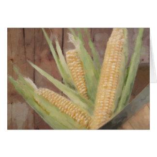 Bushel of corn card