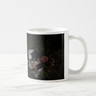 bushes classic white coffee mug