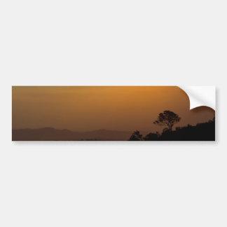 Bushfire Sunset Bumper Sticker