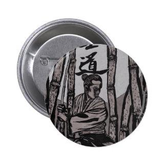 Bushido Moon  by Cartrer L. Shepard 2 Inch Round Button
