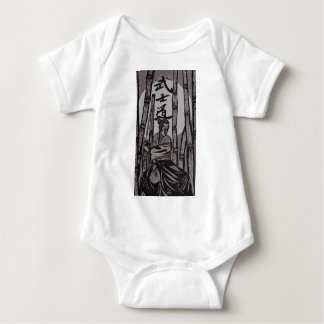Bushido Moon  by Cartrer L. Shepard Baby Bodysuit