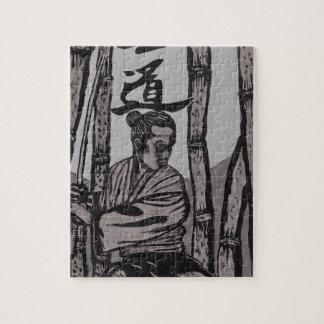Bushido Moon  by Cartrer L. Shepard Jigsaw Puzzle