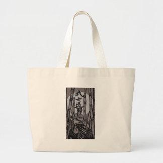 Bushido Moon light Large Tote Bag