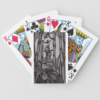 Bushido Moon light Poker Deck