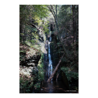Bushkill Falls in the Poconos. print 0206