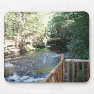 Bushkill Falls - Mt. Pocono, PA Mouse Pad
