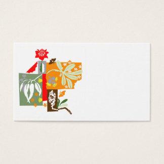 Bushland Flora - Business card
