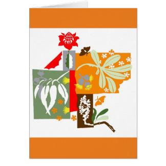 Bushland flora - Greeting Card
