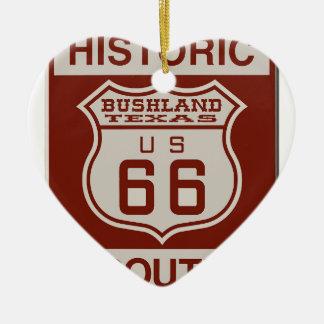 BUSHLANDRT66 CERAMIC ORNAMENT