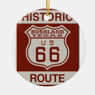 BUSHLANDRT66 CERAMIC ORNAMENT