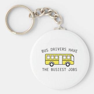 Busiest Jobs Basic Round Button Keychain