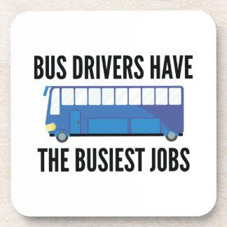 Busiest Jobs Beverage Coasters