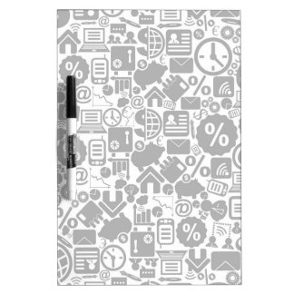 Business a background3 dry erase board