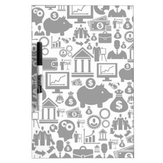 Business a background7 dry erase board