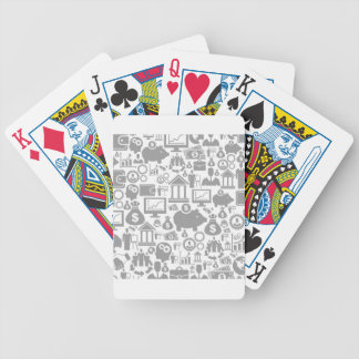 Business a background7 poker deck