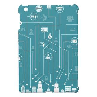 Business a city iPad mini cases