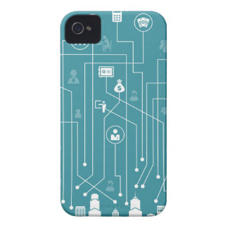 Business a city iPhone 4 case