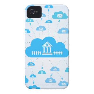 Business a cloud3 iPhone 4 Case-Mate case